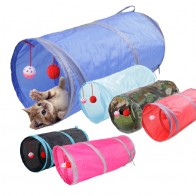 US $3.5 20% OFF|6 Color Funny Pet Cat Tunnel 2 Holes Play Tubes Balls Collapsible Crinkle Kitten Toys Puppy Ferrets Rabbit Play Dog Tunnel Tubes-in Cat Toys from Home & Garden on Aliexpress.com | Alibaba Group