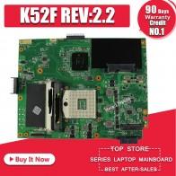 2070.91 руб. |K52F материнских плат REV: 2,2 HM55 DDR3 для ASUS K52 X52F A52F P52F Материнская плата ноутбука K52F материнская плата K52F Материнская плата Тест 100% ОК-in Материнские платы from Компьютер и офис on Aliexpress.com | Alibaba Group