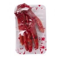 Хэллоуин сломанный палец, рука, кровь, ужас, опора, столовая коробка, товары для Хэллоуина, крутые части рук, дом с привидениями, декор для поб... - Helloween / Хеллоуин
