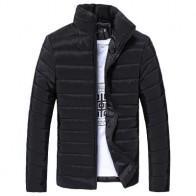 692.17 руб. |Куртка для мужчин хлопок стенд теплая зимняя толстая верхняя одежда и пальто для будущих мам 2018 на молнии куртка chaqueta hombre 18SEP12 купить на AliExpress