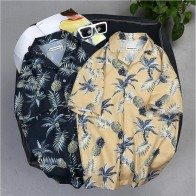 US $12.76 13% OFF|Hawaii Shirt Men Casual Loose Camisa Masculina Beach Hawaiian Holiday Party Floral High Quality Shirts Male Plus Size A5492-in Casual Shirts from Men