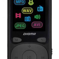 Купить MP3 плеер DIGMA B4 flash 8Гб черный в интернет-магазине СИТИЛИНК, цена на MP3 плеер DIGMA B4 flash 8Гб черный (1132585) - Москва