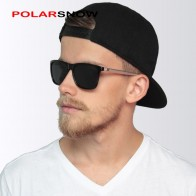 US $8.15 49% OFF|POLARSNOW Aluminum+TR90 Sunglasses Men Polarized Brand Designer Points Women/Men Vintage Eyewear Driving Sun Glasses-in Men