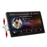 10.1 Inch 1 Din for Android 8.1 4 Core 1+16G Car Stereo Radio Multimedia Player Adjustable Touch Screen GPS Wifi bluetooth FM AM DSP