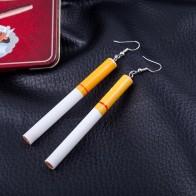 55.59 руб. 30% СКИДКА|Модные женские серьги оптовая продажа сигарет butts серьги восстанавливающие древние пути Gout Контрактная девушка Висячие серьги для женщин купить на AliExpress
