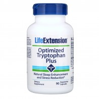 Life Extension, Optimized Tryptophan Plus, 90 Vegetarian Capsules