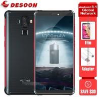 """Vernee V2 Pro Android 8,1 водонепроницаемый смартфон с IP68 5,99 """"Face ID 6 ГБ Оперативная память 6 4G B Встроенная память 21MP 4cams NFC 6200 мАч 4G LTE Мобильного Телефона купить на AliExpress"""