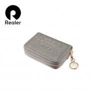 645.6 руб. 45% СКИДКА|REALER визитница для пластиковых карт, визитница женская для карточек, женский кошелек из натуральной кожи с крокодиловым принтом-in Держатели для карт и пропусков from Багаж и сумки on Aliexpress.com | Alibaba Group