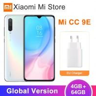 18029.49 руб. |Имеются на складе! Глобальная версия Xiaomi Mi A3 4 Гб 64 Гб мобильный телефон CC 9E Snapdragon 665 Octa Core 6,088