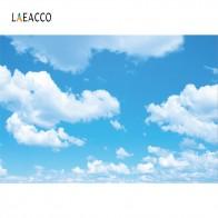 247.15 руб. 8% СКИДКА|Laeacco голубое небо облачно вечерние обои домашний декор ребенок натуральный живописный Фотофон для фотостудии купить на AliExpress