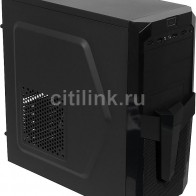 Корпус ATX ACCORD P-25B,  черный, отзывы владельцев в интернет-магазине СИТИЛИНК (792456) - Москва