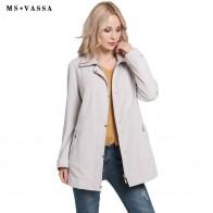 2791.07 руб. 36% СКИДКА|MS VASSA женские куртки женские 2017 новые осенние весенние базовые пальто с отложным воротником Большие размеры 5XL 6XL с отложным воротником Верхняя одежда купить на AliExpress