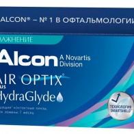 Купить Контактные линзы Air Optix (Alcon) Plus HydraGlyde (3 линзы) R 8,6 D -2,5 по низкой цене с доставкой из маркетплейса Беру