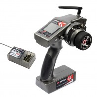 Купить Хит продаж, Радиолинк RC6GS 2,4G FHSS система 6CH Rc автомобильный контроллер передатчик и R6FG гироскоп внутри приемника аксессуар на алиэкспресс  недорого