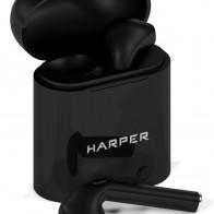 Наушники с микрофоном HARPER HB-508, Bluetooth, черный