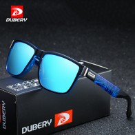 US $9.97 44% OFF|DUBERY Brand Design Polarized Sunglasses Men Driver Shades Male Vintage Sun Glasses For Men Spuare Mirror Summer UV400 Oculos-in Men