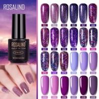Гель-лак для ногтей ROSALIND, Полупостоянный УФ-праймер для маникюра, 7 мл, верхнее покрытие, Праймер, Гель-лак, гибридный лак для ногтей - Насте