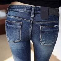 976.94 руб. 50% СКИДКА|Новые джинсы модные пикантный зауженный джинсы женские узкие брюки осенние обтягивающие брюки для леди зима Femme плюс размер джинсы-in Джинсы from Женская одежда on Aliexpress.com | Alibaba Group