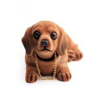 Голова собаки Приборная панель автомобиля кукла Авто встряхивание голова игрушка украшения кидинга собака интерьер автомобиля украшение ...