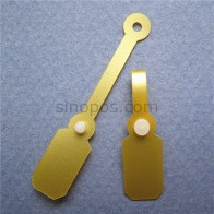 US $13.98 |Gold Jewelries Price Tag, golden PVC button snap clip gift packaging label plastic hangtag DIY vinyl fastener wedding ring tags-in Garment Tags from Home & Garden on Aliexpress.com | Alibaba Group