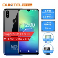 US $74.99 25% OFF|OUKITEL C15 Pro Android 9.0 Mobile Phone MT6761 Fingerprint Face ID 4G LTE Smartphone 2.4G/5G WiFi Waterdrop Screen 2+16GB/3+32G-in Cellphones from Cellphones & Telecommunications on Aliexpress.com | Alibaba Group