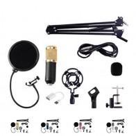 € 18.39 35% de DESCUENTO|Kit de micrófono condensador SCLS BM800 micrófono de estudio grabación Vocal KTV micrófono de Karaoke micrófono con soporte para ordenador-in micrófonos from Productos electrónicos on Aliexpress.com | Alibaba Group