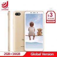 5752.41 руб. 26% СКИДКА|В наличии оригинальная глобальная версия Xiaomi Redmi 6A 2 GB 16 GB 5,45