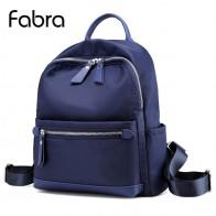 1046.25 руб. 45% СКИДКА|Fabra женский рюкзак Водонепроницаемый качественный нейлоновый рюкзак женские повседневные Рюкзаки маленькие размеры дорожная сумка 24x12x31 см-in Рюкзаки from Багаж и сумки on Aliexpress.com | Alibaba Group