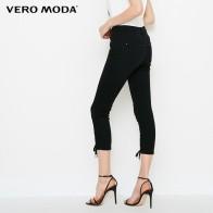 1569.38 руб. |Vero Moda/Новые брюки с перекрещивающимися ремешками; джинсы с тремя четвертями; большие размеры; 31826I553-in Джинсы from Женская одежда on Aliexpress.com | Alibaba Group