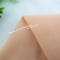 Một nửa Mét Kaki Búp Bê Da Nỉ Vải Mô Đồng Màu Sang Trọng Vải May Miếng Dán Cường Lực Quilting Thịt Tissue145 * 50 cm