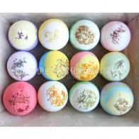 Увлажняющий сухой цветок пузырь ванна бомба мяч эфирное масло для ванной SPA антистресс отшелушивающий для ванны соль для купания аксессуары купить на AliExpress