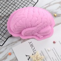 Halloween Brain Shaped Mold - Halloween decorations