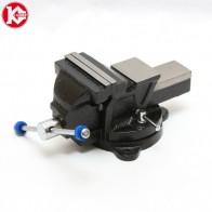 2110.0 руб. |Тиски слесарные поворотные Калибр ТПСН 100 (100 мм, наковальня) купить на AliExpress