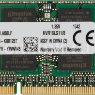 Модуль памяти KINGSTON VALUERAM KVR16LS11/8 DDR3L -  8Гб