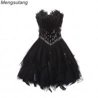 3959.65 руб. 45% СКИДКА|Вечернее платье черного цвета, бальное платье принцессы, платье на бретельках, вечернее платье, вечернее платье купить на AliExpress