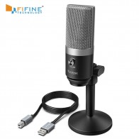 US $47.99 20% OFF|FIFINE USB Microphone for Mac laptop and Computers for Recording Streaming Twitch Voice overs Podcasting for Youtube Skype K670-in Microphones from Consumer Electronics on Aliexpress.com | Alibaba Group