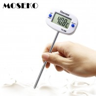 US $2.62 35% OFF|MOSEKO Rotatable Digital Food Thermometer BBQ Meat Chocolate Oven Milk Water Oil Cooking Kitchen Thermometer Electronic Probe-in Temperature Gauges from Home & Garden on Aliexpress.com | Alibaba Group
