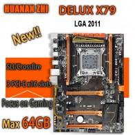 6338.6 руб. 11% СКИДКА|HUANAN ZHI Deluxe X79 игровая Материнская плата intel LGA 2011 поддержка ATX 4x16 Гб 64 Гб памяти PCI E x16 7,1 Звуковая дорожка crossfire-in Материнские платы from Компьютер и офис on Aliexpress.com | Alibaba Group