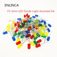 US $0.38 11% OFF|100pcs/lot F3 3MM Round Green Yellow Blue White Red Orange LED Light COMPONENT Diode DIY kit Purple Pink Jade green warm white-in Diodes from Electronic Components & Supplies on Aliexpress.com | Alibaba Group