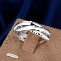 37.29 руб. 50% СКИДКА|С серебряным покрытием кольцо для женщин Свадебные anelli donna унисекс ювелирные изделия парные кольца для мужчин оптом дешево простой элегантный R167-in Кольца from Украшения и аксессуары on Aliexpress.com | Alibaba Group