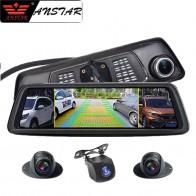 15484.76 руб. 56% СКИДКА|Anstar 4G Автомобильная камера зеркало заднего вида DVR 2 ГБ + 32 ГБ 4CH камера s Dash Cam 10