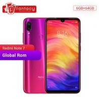 В наличии глобальная Rom Xiaomi Redmi Note 7 6 Гб 64 Гб Восьмиядерный Snapdragon 660 камеры 48 МП 6,3 дюйма FHD экран мобильный телефон QC 4,0