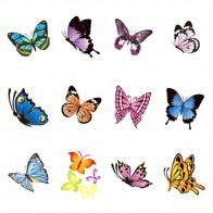 7.85 руб. 39% СКИДКА|Yzwle 1 лист дополнительно бабочка серии наклейка на ногти водная наклейки для ногтей переводные наклейки для ногтей-in Наклейки и наклейки from Красота и здоровье on Aliexpress.com | Alibaba Group