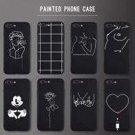 € 0.84 42% de DESCUENTO|Funda para teléfono 3D Relief para iPhone 6 6 s 7 8 Plus X 5 5S SE funda bonita caricatura amor corazón suave TPU Capa negra para iPhone 8 XR XS Max-in -En los casos from Teléfonos celulares y telecomunicaciones on Aliexpress.com | Alibaba Group