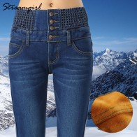 1234.58 руб. 45% СКИДКА|Теплые джинсы женские зимние с высокой талией мама винтажные черные зимние джинсы женские большие размеры плотные джинсовые штаны джинсовое платье Femme 2018-in Джинсы from Женская одежда on Aliexpress.com | Alibaba Group
