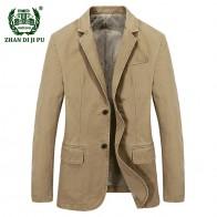 2975.68 руб. 35% СКИДКА|2018 бизнес для мужчин весна повседневное бренд блейзер Пальто Джентри Человек Осень 100% хлопок синий afs джип пиджаки для женщин пальто-in Куртки from Мужская одежда on Aliexpress.com | Alibaba Group
