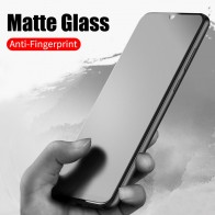 No fingerprint Matte Glass for Xiaomi Pocophone F1 A3 9T CC9 Screen Protector Frosted Tempered Glass for Redmi K20 Note 7 8 Pro