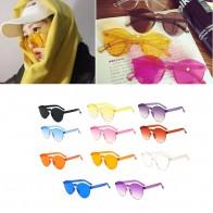 Солнцезащитные очки круглой формы  купить в интернет-магазине Pandao.ru по цене 53 руб.