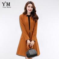 2280.88 руб. 40% СКИДКА|YuooMuoo Новинка плюс размер женское пальто осень средней длины шерстяная куртка плюс размер 3XL однобортный дизайн Брендовая женская куртка верхняя одежда-in Шерсть и сочетания from Женская одежда on Aliexpress.com | Alibaba Group