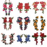 US $1.13 5% OFF|2pc/Set Embroidery Rose Flower Sew On/Iron On Patch Applique diy Crafts Stiker for Jeans Hat Bag Clothes Accessories Badges-in Patches from Home & Garden on Aliexpress.com | Alibaba Group